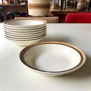 Carrigaline Pottery Hand Painted Deep Plate / Medium 70's アイルランド