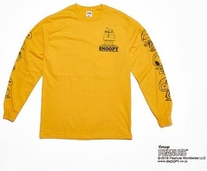 HOUSE L/S TEE - YELLOW