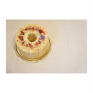 20cmホール米粉シフォンケーキ