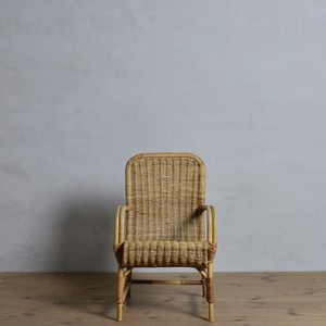 Kids Rattan  Chair / キッズ ラタン チェア 【A】〈キッズチェア・子供椅子・籐・店舗什器〉112060