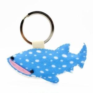 海の生物キーホルダー/ジンベエザメ/サメ