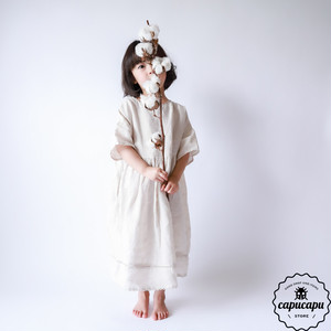 «予約» linen shushu one-piece 2colors リネンワンピース
