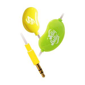 「JellyBelly」スマホ対応イヤホンマイク JB-EM2-YLG
