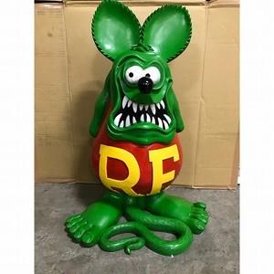 Rat Fink JUMBO STATUE