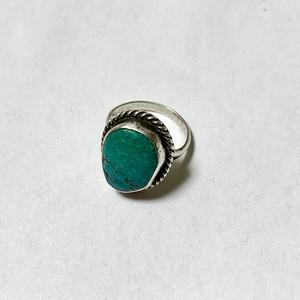 Vintage Nabajo Turquoise Ring ①