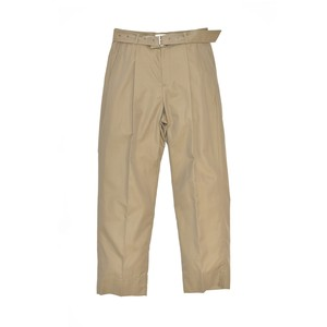 UNDECORATED Finx Cloth Belted Pants Khaki UDS19408