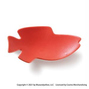 レオ・レオニ 豆皿 小皿 ミニ 皿 約8×4cm スイミー 仲間 アカ 瀬戸焼 278214