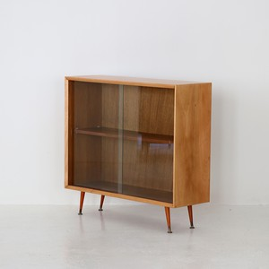 Glass bookcase / Herbert E. Gibbs
