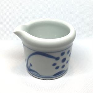 【砥部焼/梅山窯】玉縁クリーマー(太陽)