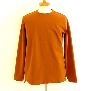 Warm Stretch Crewneck Cut & Sewn Camel