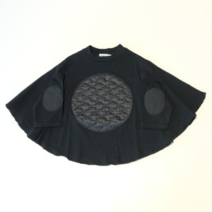 【20AW】フランキーグロウ ( frankygrow )BEAR QUILTING DOTS PONCHO L/S TEE[ S / M / L ]トップス ロンT