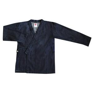 デニム作務衣 (上衣)