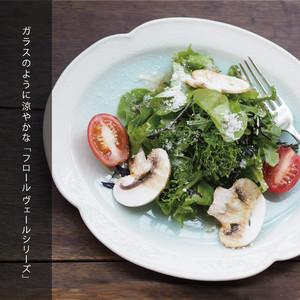 FleursVerre-フロールヴェール- プレートS 52050002 maison blanche(メゾンブランシュ)【日本製】