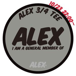 """"""" ALEX MEMBERS 3/4 TEE """""""