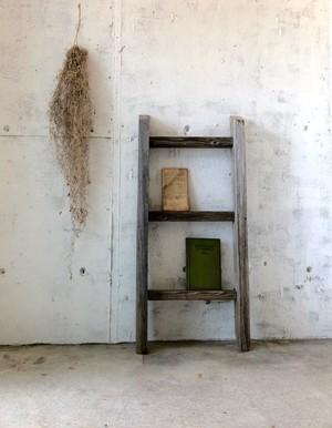 木製のディスプレイラダー[古道具]