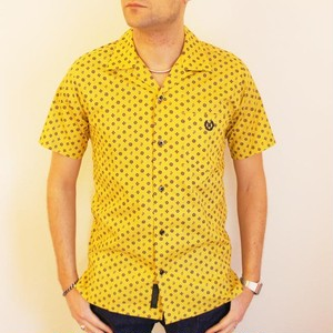PAISLEY ONE-UP COLLER SS SHIRT