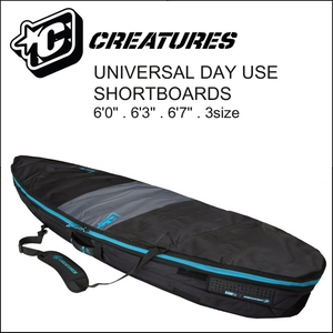 CREATURES 6'3'' DAY USE ハードケースカバー 1BOARD