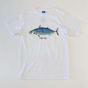 NEST焼津限定 GOOD ON S/Sクルー鰹プリントTシャツ