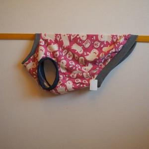 【3L】ピンクおばけのタンクトップ 犬服・中型犬
