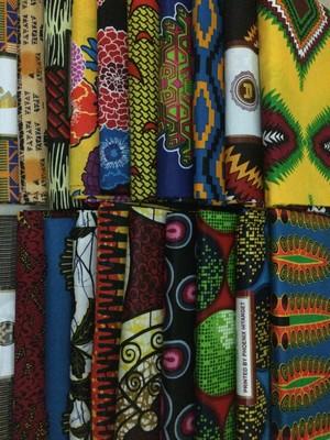 アフリカプリント布【エターゲットおまかせ10種類】