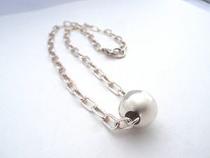 Silver925 プロンプボールネックレス