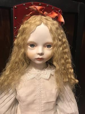 松田珠江作 カノン 球体関節人形(粘土製) 創作人形