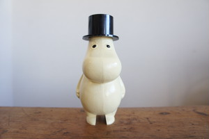 "SOLD OUT ""Muumipappa"" -Cream - GOTABANKEN Novelty Coin Bank"