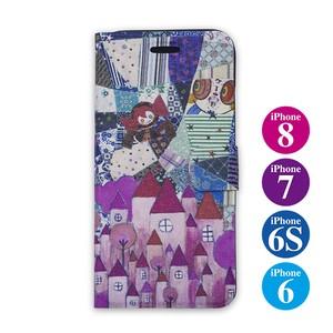【iPhone8も対応】iPhone7用ケース パカスタンド「劇場版魔法少女まどか☆マギカ」ベベ柄(6,6Sも対応)