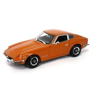 Maisto ミニカー 1:18 1971 ダットサン 240Z オレンジ No.200-112