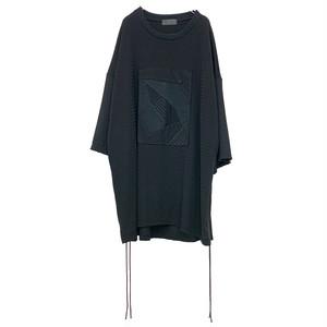 Gather-T-shirts PW(black)