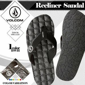 V0811520 ボルコム ビーチサンダル メンズ RECLINER SANDAL BWH ビーチ 海 ビーサン VOLCOM