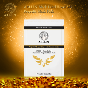 ARLLIN Black Label Royal Silk Propolis Mask Pack