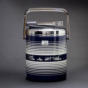 昭和レトロ 象印 魔法瓶タイプのアイスジャー 1L (368)