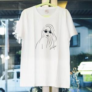 Tシャツ(HONMA AIKA シングル)ホワイト