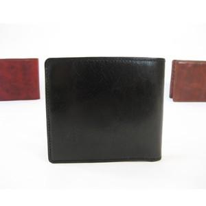 """""""BASIC""""アートウォレット<BLACK> ギフト包装・送料無料 二つ折り財布"""