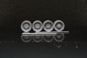 8.5mm WORK マイスター M1 タイプ 3Dプリント ホイール 1/64 未塗装