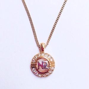 """""""NINA RICCI"""" rhinestone necklace[n-82]"""