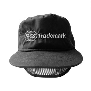 TAGS™️ EYE SHADE CAP BLACK