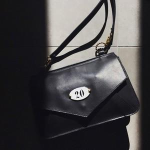 Trip Leather Pochette / Nero no.20