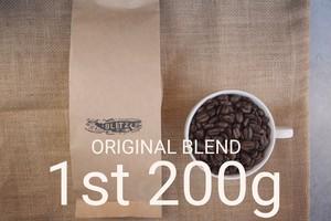 200g - ブリッツオリジナルブレンド豆-1st-