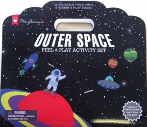 OUT OF SPACE PEEL & PLAY ACTIVITY SET