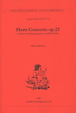 キール:ホルン協奏曲 Op.23 / ホルンとピアノ