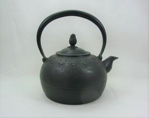 鉄瓶 平丸花 1.2L