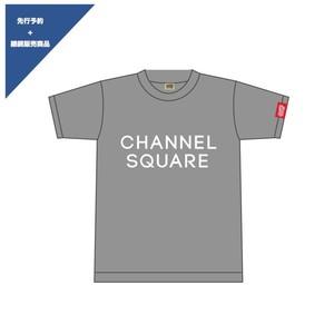 ロゴTシャツ GRAY×WHITE