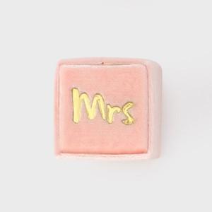 THE MRS.BOX(ザ・ミセスボックス)クラシックサイズ「mrs」PALOMA(パロマピンク)