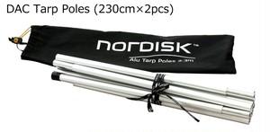 【Nordisk】ノルディスク DAC Tarp Poles 230cm 2本セット