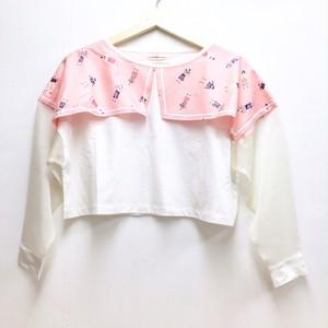 FUTATSUKUKURI / 夏に着る 長袖Tシャツ(桃色)