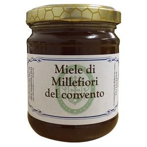 はちみつ ミッレフィオーレ※百花蜜(Miele di Millefiori del convento)250g/イタリア カルメル会 モンテ・カルメロ修道院