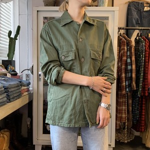 1950's〜U.S.ARMY BAKER SHIRTS 13 STAR BUTTON アメリカ軍 ベイカーシャツ