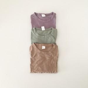 【即納あり】No.0510 くすみ半袖Tシャツ